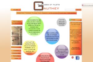Site de vente gauthey.fr